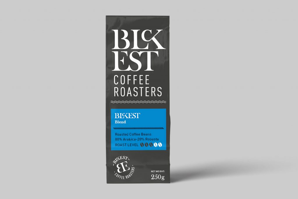 BLCKEST Blend Coffee (80% Arabica - 20% Robusta)