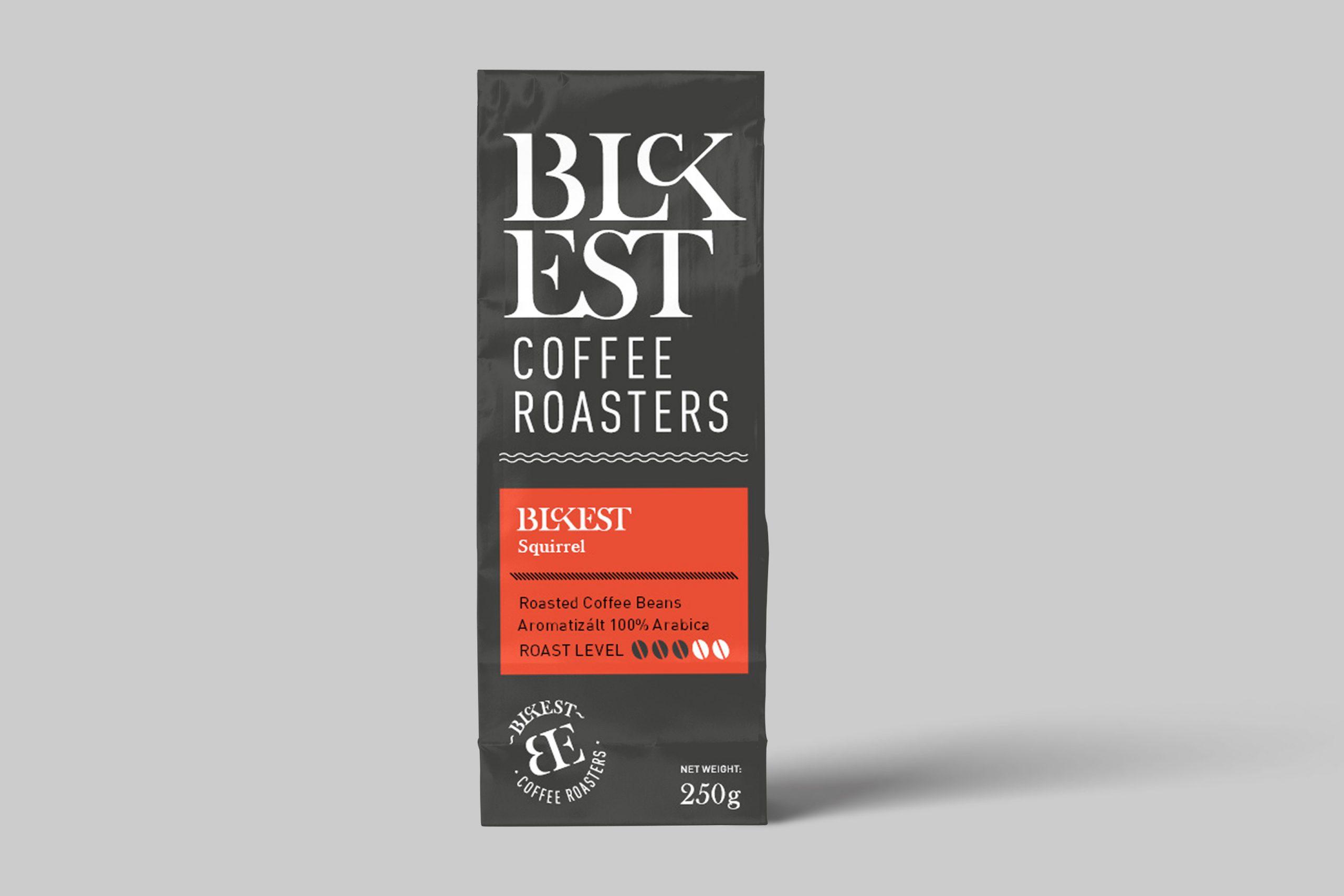 BLCKEST Squirrel (hazelnut) - Flavored Coffee